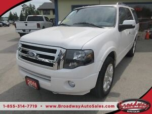 2011 Ford Expedition LOADED LIMITED EDITION 8 PASSENGER 4X4.. 5.