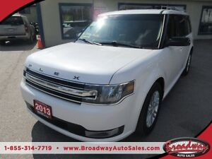 2013 Ford Flex LOADED SEL EDITION 7 PASSENGER 3.5L - V6 ENGINE..