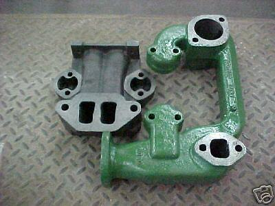 2-pc Manifold For John Deere 520 530 Tractors