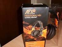 afx gaming headset headphones h01 firestorm