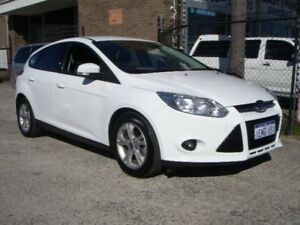 2014 Ford Focus LW MK2 Upgrade Trend White 5 Speed Manual Hatchback Wangara Wanneroo Area Preview