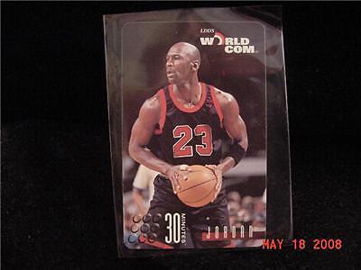 1996 Worldcom World Com Michael Jordan Calling Card