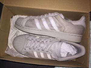 Adidas Superstar Triple Grey (size 9) Woolwich Hunters Hill Area Preview