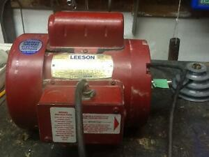 3/4 HP Electric Motor Leeson 110 or 220ac West Island Greater Montréal image 1