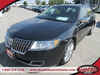 2010 Lincoln MKZ LOADED 'SPORTY' 5 PASSENGER LEATHER.. HEATED SE
