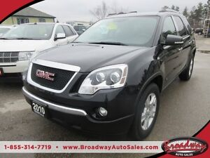 2010 GMC Acadia WELL EQUIPPED SLE MODEL 7 PASSENGER CAPTAINS.. 3