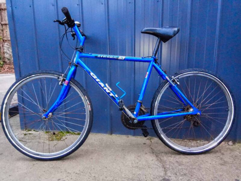 Vintage Retro 1993 Giant Rincon Cromoly Steel Mountain Bike