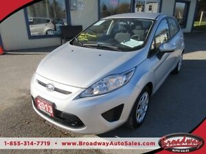 2013 Ford Fiesta WELL EQUIPPED SE EDITION 5 PASSENGER 1.6L - DOH