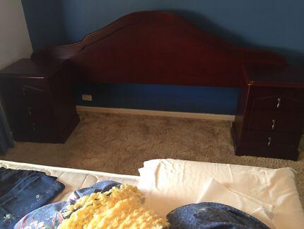 Wooden Queen Size Bed Head