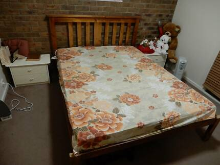 Timber Bed (Queen size)