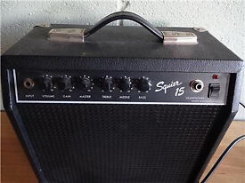 fender squier SQ15 15w Amp