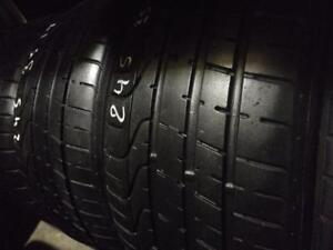 Pair of 2 ~~~ 245/35R19 Pirelli PZero ~~~ SUMMER Performance ~~~~ 75%tread