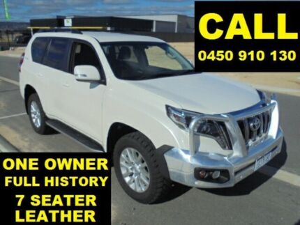2014 Toyota Landcruiser Prado KDJ150R MY14 VX (4x4) Pearl White 5 Speed Sequential Auto Wagon