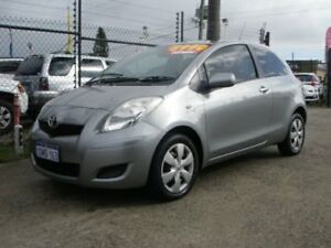 2009 Toyota Yaris NCP91R 08 Upgrade YRS Dark Silver 4 Speed Automatic Hatchback Wangara Wanneroo Area Preview