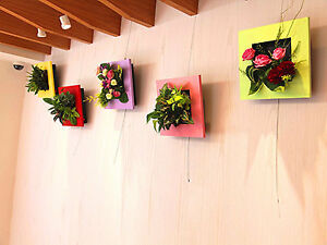 Vertical Self Watering Flower Frame / Plant Pot