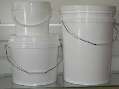 BUCKET STORAGE 20 LT HEAVY DUTY PLASTIC CAN STACK RESEALABLE Underwood Logan Area Preview
