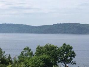 Amazing Waterview Lot in Quispamsis