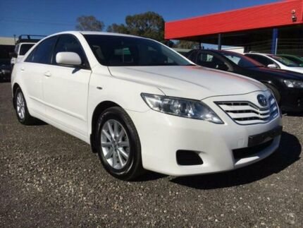 2011 Toyota Camry ACV40R MY10 Altise White 5 Speed Automatic Sedan