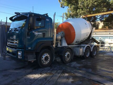 Concrete truck and contract for sale