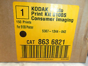 Kodak Photo Print Kit  Cat 863 6821