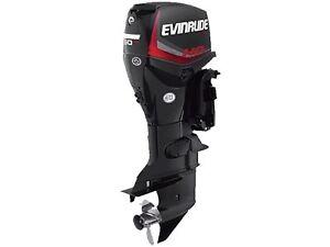 2017 Evinrude E-Tec 50 HP E50DGTL