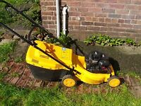 "McCulloch 16"" cut petrol lawnmower"