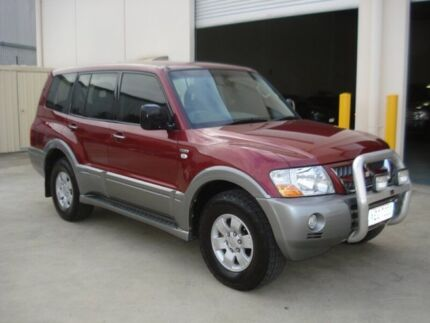 2005 Mitsubishi Pajero NP GLS LWB (4x4) Maroon 5 Speed Auto Sports Mode Wagon Croydon Charles Sturt Area Preview