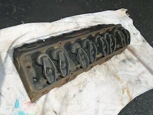 1969 327 CYLINDER HEAD WITH ACCESSORY BOLT HOLES