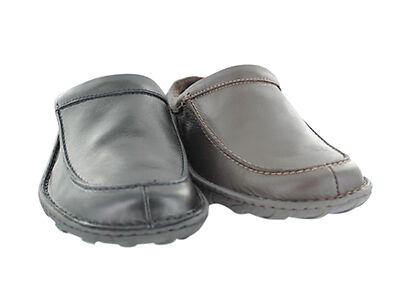Clark's Kite Vasa Leather Slippers