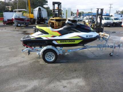 2015 Seadoo GTI 155 SE Wake Pro Jet Ski with Trailer - AUCTION