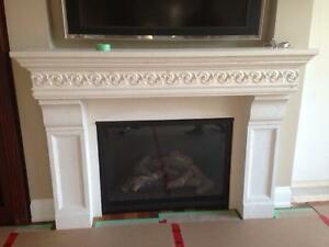 """Mantles of Stone"" Fireplace  $400 obo."