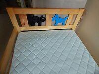 Ikea Pine Kritter Bed