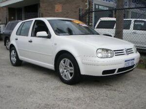 2003 Volkswagen Golf 1.6 Generation White 4 Speed Automatic Hatchback Wangara Wanneroo Area Preview