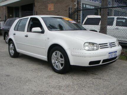 2003 Volkswagen Golf 1.6 Generation White 4 Speed Automatic Hatchback