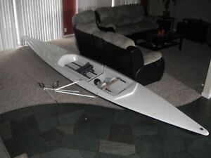 laser rowing shell