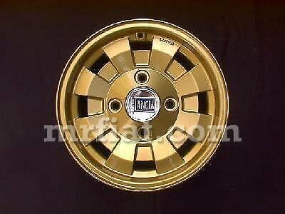 Lancia Fulvia Cd28 Wheel Gold New
