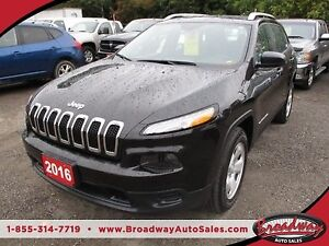 2016 Jeep Cherokee POWER EQUIPPED SPORT EDITION 5 PASSENGER 2.4L
