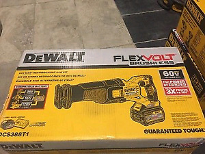 Dewalt Cordless Reciprocating Saw Kit