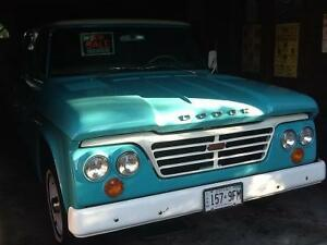 1964 Dodge 'Sweptline' Crewcab (please call)