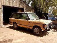 WANTED Range Rover Classic 2 door/Defender, RHD or LHD