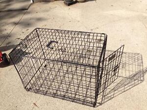 Medium size dog cage 2 doors