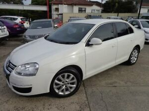 2010 Volkswagen Jetta 1KM MY10 118 TSI White 7 Speed Auto Direct Shift Sedan Sylvania Sutherland Area Preview