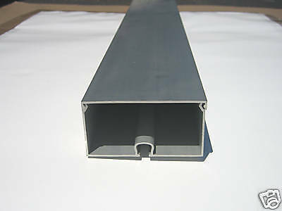 T6061 Aluminum Channel 4 X 2 X 48