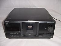A SONY CDP-CX235 CD CHANGER MULTI DISK DISC COMPACT DISC PLAYER AUTO CHANGER AUTO CHANGER