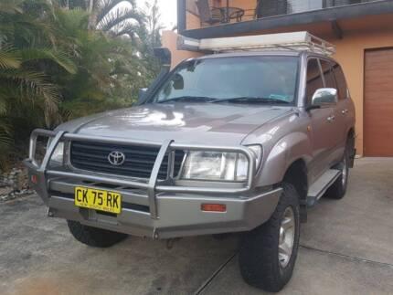 2002 Toyota LandCruiser Wagon