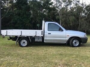 2002 Mazda Bravo B2600 DX Silver 5 Speed Manual Cab Chassis