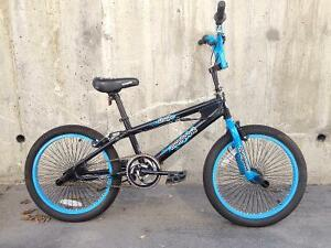 Fast blue-n-black BMX Mongoose Crash -MINT-