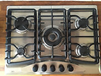 IKEA Whirlpool 5 burner gas hob in very good condition.