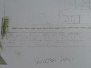 Potential Re- Zoning in Princeton - 100` x 396`