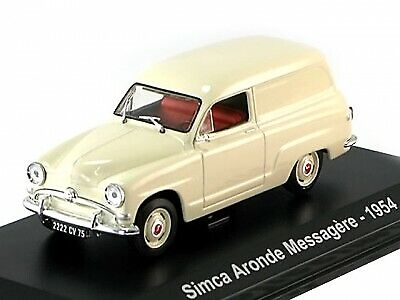 SIMCA ARONDE MESSAGERE 1954 CREAM 1/43 NOREV